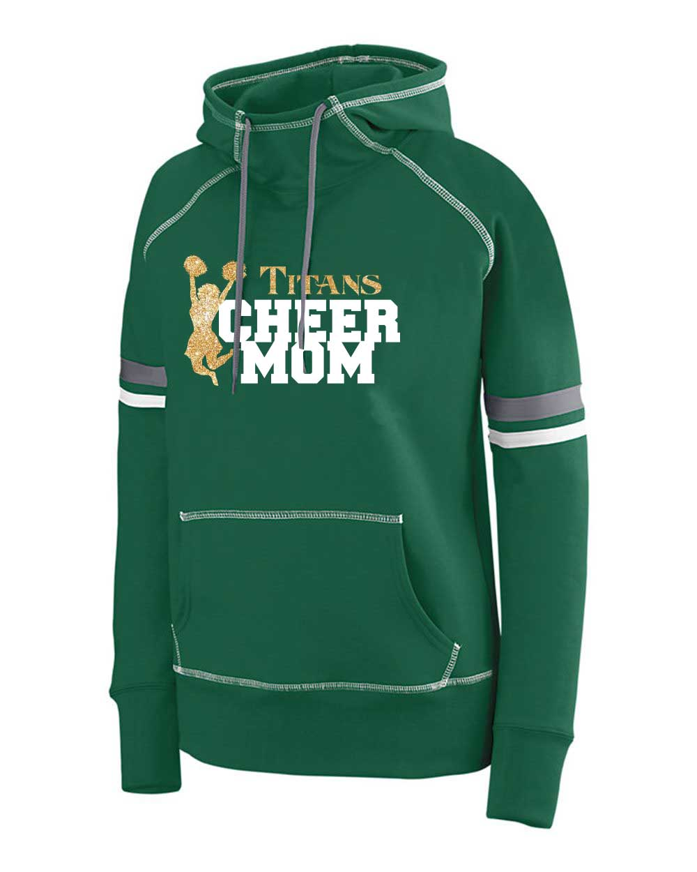 Augusta_Sportswear_5440_Dark_Green__White__Graphite_Side_High2cheermom